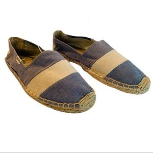 Soludos Striped Chambray Espadrilles size 7